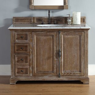 Belhaven 48 Single Driftwood Bathroom Vanity Set