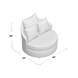 Top Reviews Ella Swivel Barrel Chair by Piedmont Furniture Reviews (2019) & Buyer's Guide