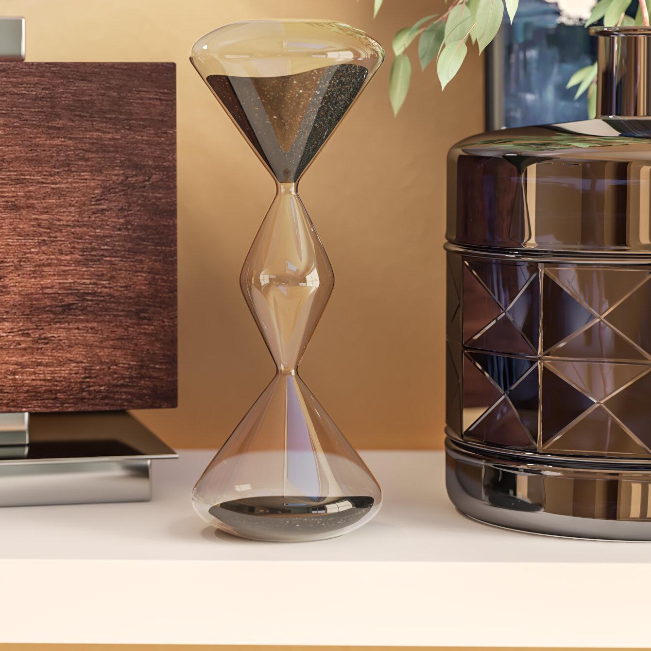 Wade Logan Wrightstown Decorative Hourglass Reviews Wayfair - Decorative-hourglass
