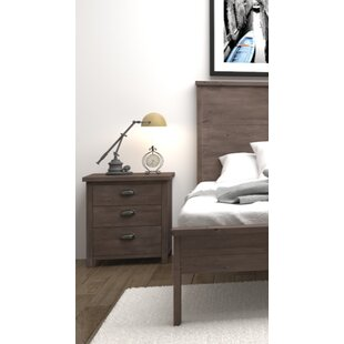 Barna 3 Drawer Nightstand by Gracie Oaks