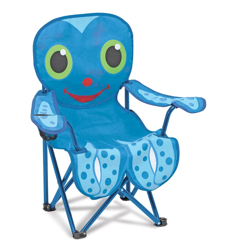 Flex Octopus Kids Directors Chair With Cup Holder
