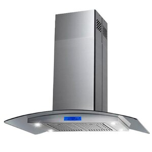 Kitchen Island 30 X 24 range hoods you'll love | wayfair