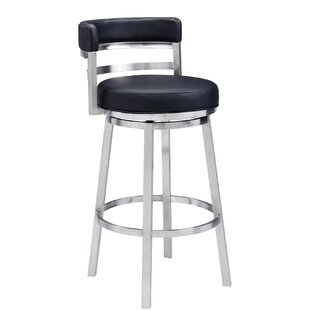 Amazing Evelina 26 Bar Stool By Wayfair Custom Upholstery Low Price Andrewgaddart Wooden Chair Designs For Living Room Andrewgaddartcom