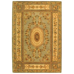 Bergama Light Blue/Ivory Area Rug