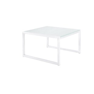 Santistevan Square Aluminum Side Table