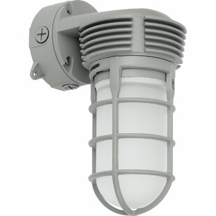 Inexpensive Nystrom 1-Light Outdoor Sconce By Latitude Run