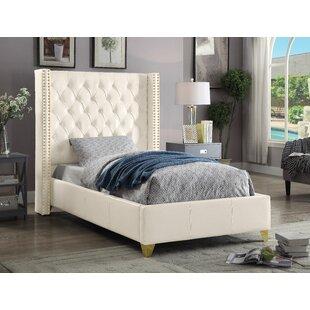 Holmes Upholstered Platform Bed