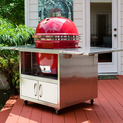 Stainless Steel Cart Grill Dome