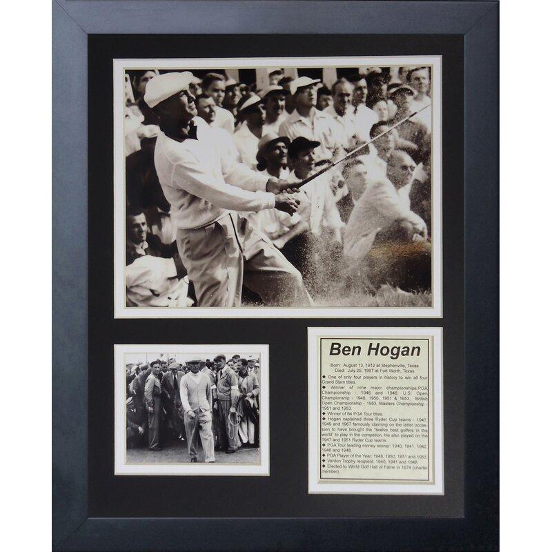 Legends Never Die Ben Hogan Framed Memorabilia Wayfair