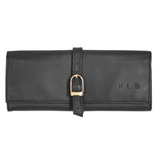 Suede Lined Jewelry Roll ByRoyce Leather