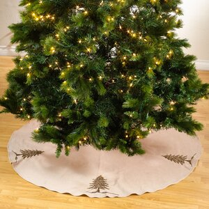 Sapin De Noel Round Beaded Christmas Tree Skirt