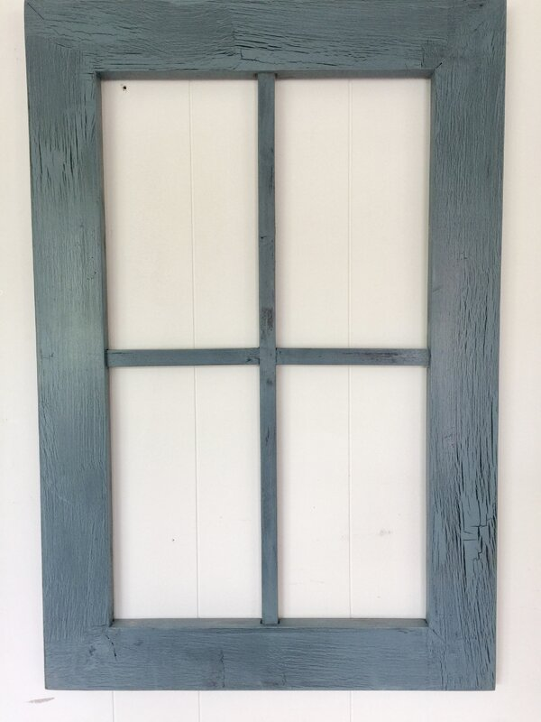 rustic window frame wall dcor - Window Frame Wall Decor
