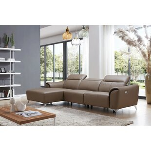 Read Reviews Zebediah Reclining Sectional by Orren Ellis Reviews (2019) & Buyer's Guide