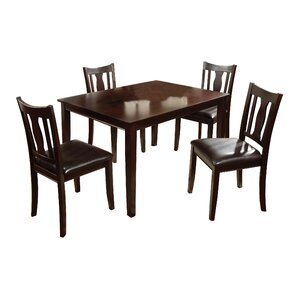 Turner 5 Piece Dining Set by Darby Home Co