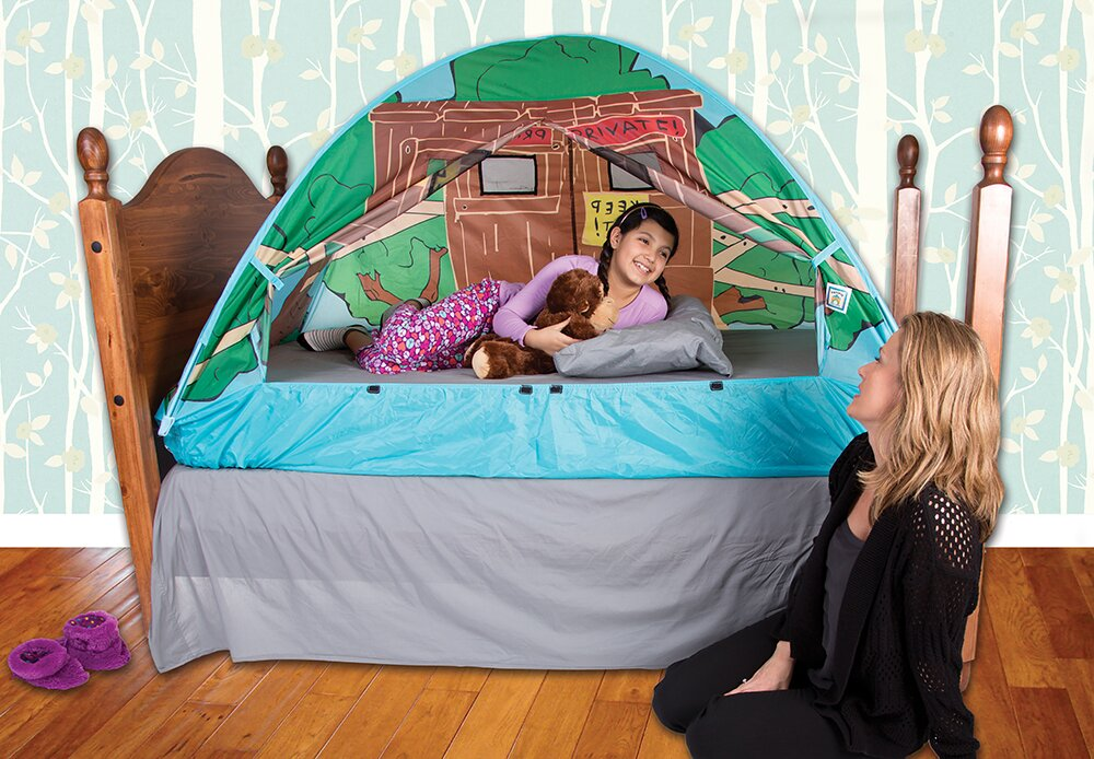 Tree House Bed Play Tent  sc 1 st  Wayfair : play tents for beds - memphite.com