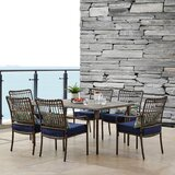 Ritchie 7 Piece Dining Set with Cushions