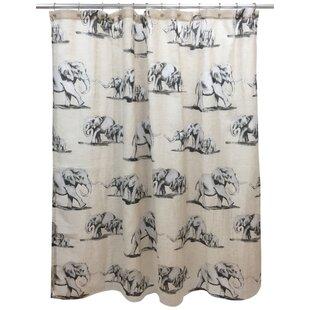 Best Reviews Bruthen Shower Curtain ByWorld Menagerie
