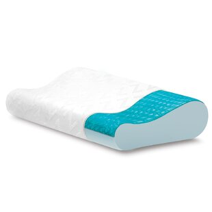 Contour Gel Medium Memory Foam Bed Pillow