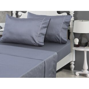 800 Thread Count Solid 100% Cotton Sateen Sheet Set ByCanora Grey