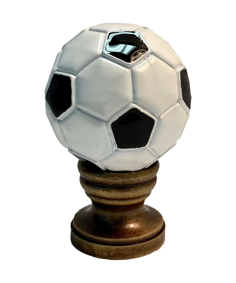 Home Concept Alloy Soccer Ball Lamp Finial Wayfair
