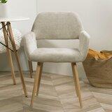 Kaiser Upholstered Armchair in Beige by Corrigan Studio®