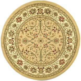 Ottis Beige/Ivory Area Rug by Charlton Home
