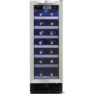 27 Bottle Silhouette Single Zone Built-In Wine Cooler