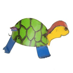 Small Turtle With Hump Statue by Rustic Arrow