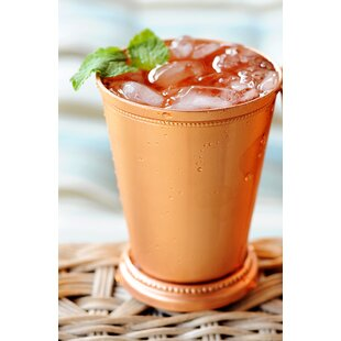 Mint Julep Juice Glass 12 oz. Copper