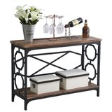Engleman 43.3 Console Table by 17 Stories