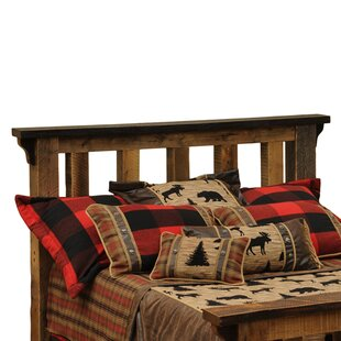 Barnwood Slat Headboard by Fireside Lodge Read Reviews