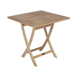 Lamberton Folding Teak Bistro Table