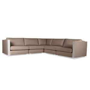 Steffi Right and Left Arms L-Shape Standard Modular Sectional by Orren Ellis