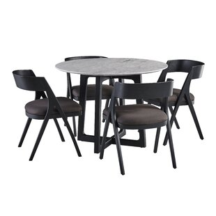 Braymer 5 Piece Dining Set by Brayden Studio Savings
