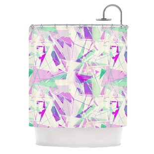 Shatter Single Shower Curtain