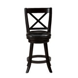 Kingsford Swivel 25 Counter Stool (Set of 2) by Red Barrel Studio®