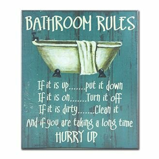 Bath Laundry Wall Art Bathroom Decor