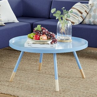 Acevedo Coffee Table with Tray Top