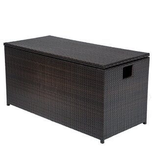 Wicker Deck Box by TK Classics Best #1