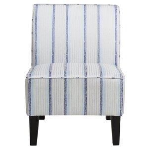 Hazeldell Slipper Chair by Breakwater Bay