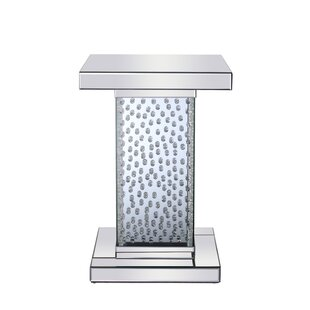 Jaylon Crystal End Table by Rosdorf Park