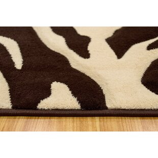 Comparison Chocolate/Cream Area Rug By Brady Home