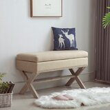 Wollano Flip Top Storage Bench by Gracie Oaks