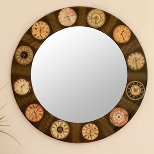 Novica The Faces of Time Accent Mirror