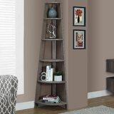 Hewitt 71 H x 16.5 W Corner Bookcase by Breakwater Bay