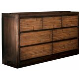 Ofelia Transitional Wooden 7 Drawer Double Dresser by Millwood Pines