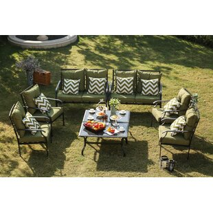 Escobar 8 Piece Conversation Set with Cushions