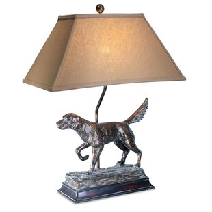 Nia Hunting Dog 28 Table Lamp