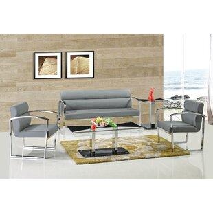 Stukes 3 Piece Living Room Set