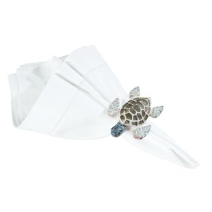 Ostrander Turtle Napkin Ring (Set of 6)